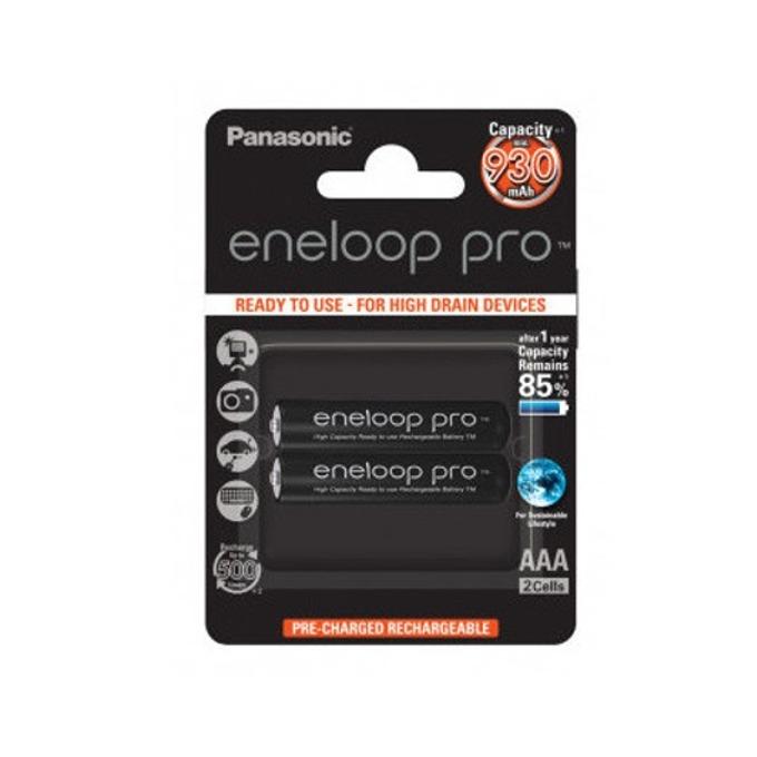 Panasonic Eneloop Pro AAA 2 бр. 930mAh