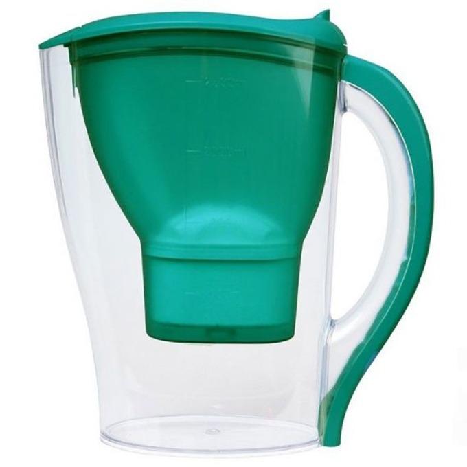 Кана Singer Purify WP-04, 2,5 литра, премахва котления камък, 96% пречистване от хлор, зелена image