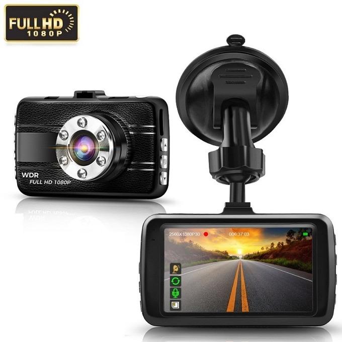 """Видеорегистратор Q-see SD13, камера за автомобил, Full HD 1080P, 3MP, 3.0"""" (7.62) IPS HD дисплей, TF слот, сензор за движение image"""