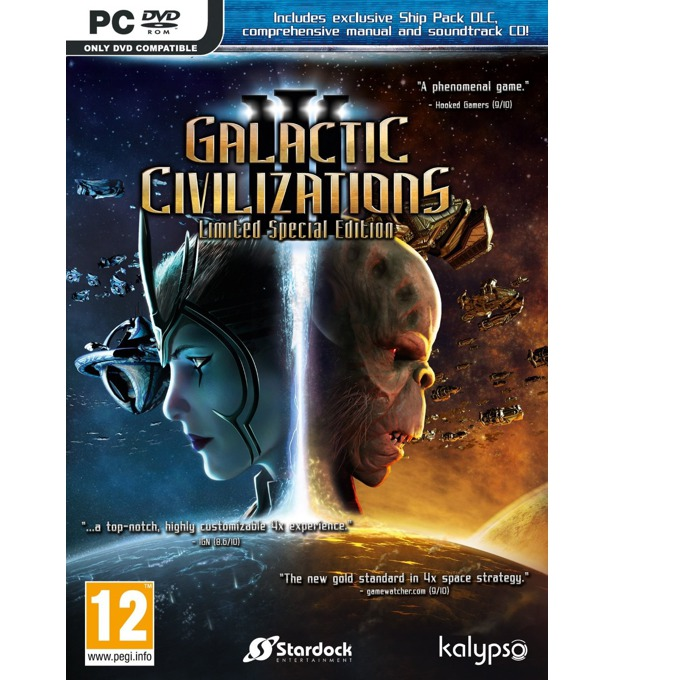 Игра Galactic Civilizations III - Limited Special Edition, за PC image