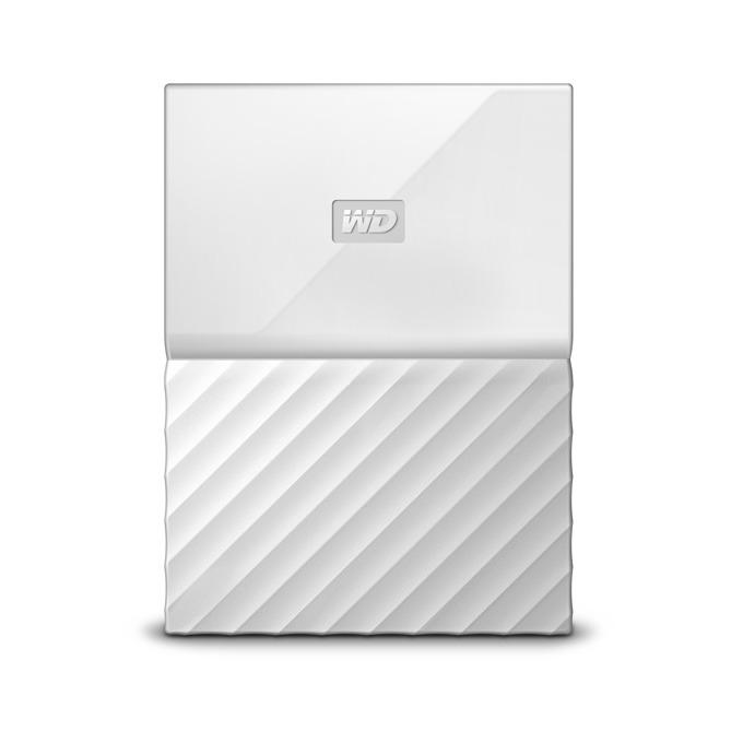 """Твърд диск 4TB Western Digital MyPassport, външен, 2.5""""(6.35cm), USB 3.0, бял image"""