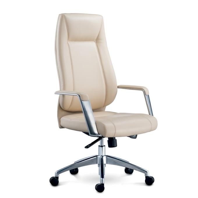 Директорски стол RFG VINCI HB, екокожа, бежов image