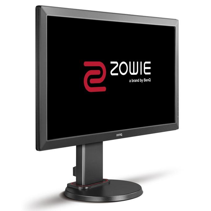 """Монитор BenQ ZOWIE RL2460 (9H.LF3LB.QBE), 24"""" (60.96 cm) TN панел, Full HD, 1ms, 12 000 0000:1, 250 cd/2, HDMI, DVI, D-sub image"""