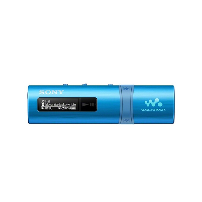 MP3 плейър Sony NWZ-B183F, 4GB, син