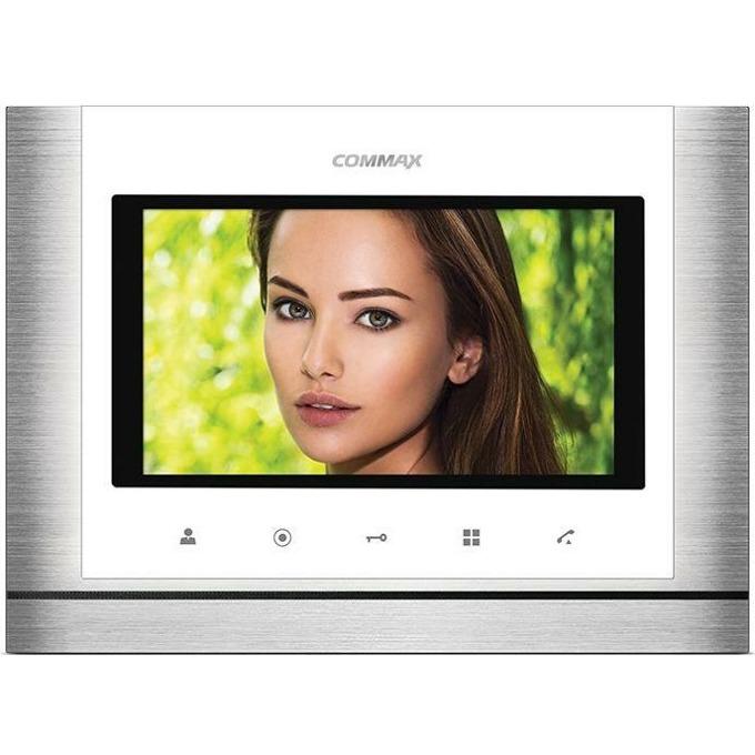 """Цветен Видеодомофон Commax CDV-70M, до 2 камери/2 монитора/ 2 интерфона, TFT, 7"""" image"""