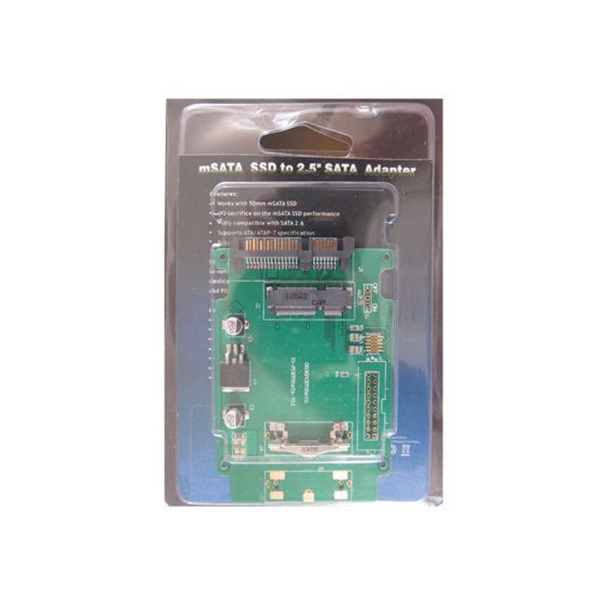 "Преходник Estillo mSATA SSD към 2.5"" SATA SSD/HDD image"
