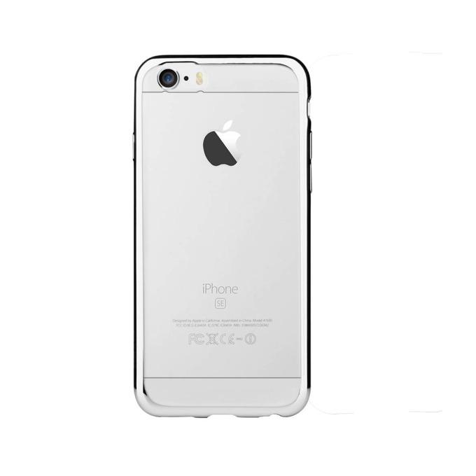Силиконов протектор за Apple iPhone SE, iPhone 5S и iPhone 5, сребрист image