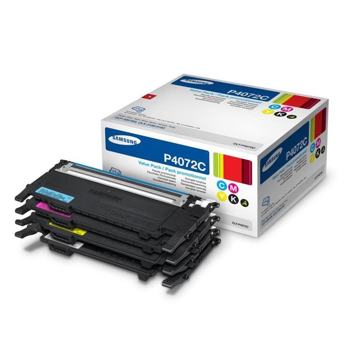 КАСЕТА ЗА SAMSUNG CLP320/320N/325/CLX 3185 - Rainbow kit - B/C/M/Y - P№ CLT-P4072C image