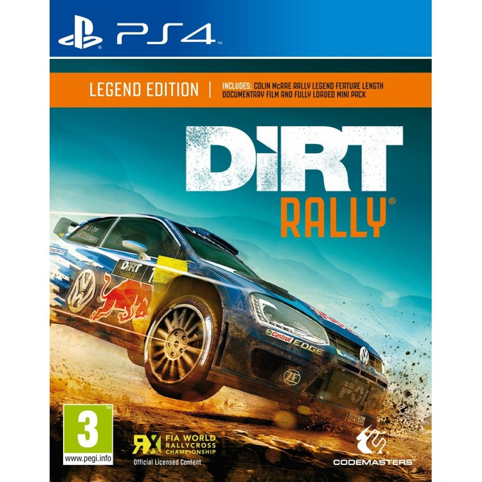 DiRT Rally Legend Edition, за PS4 image
