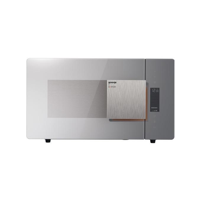 Микровълнова фурна Gorenje MO23ST, с грил, електронно управление, 900 W, 23 л. обем, 5 степени на мощност, сива image