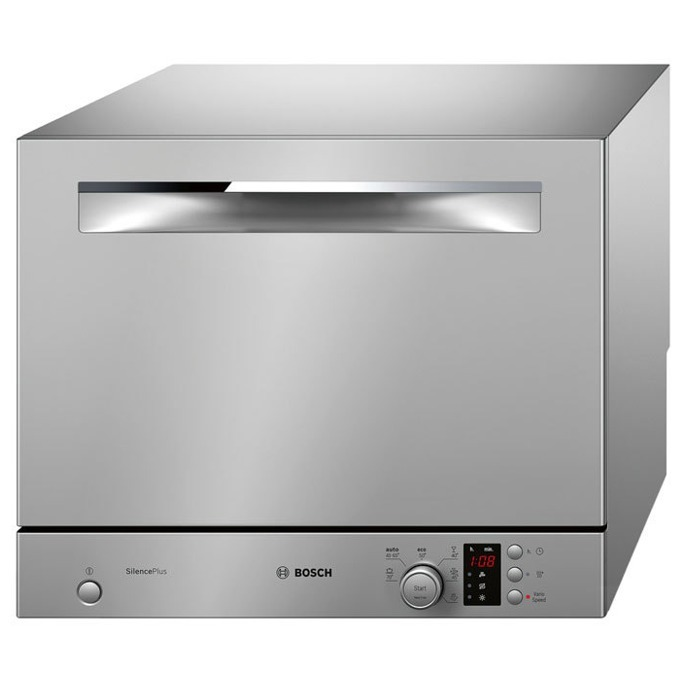 Съдомиялна Bosch SKS 62 E 28 EU, клас А+, 6 комплекта, 6 програми, 5 температури, инокс  image