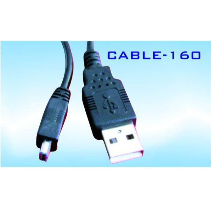 Кабел Royal 160 34248, от USB Type A(м) към USB Mini(м) 1.8m, черен image