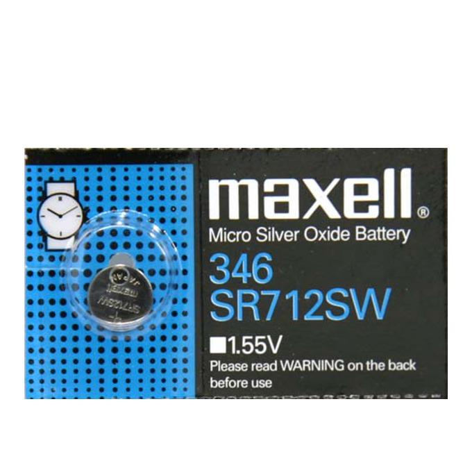 Батерия MAXELL SR-712-SW/346, 1.55V, сребърна image