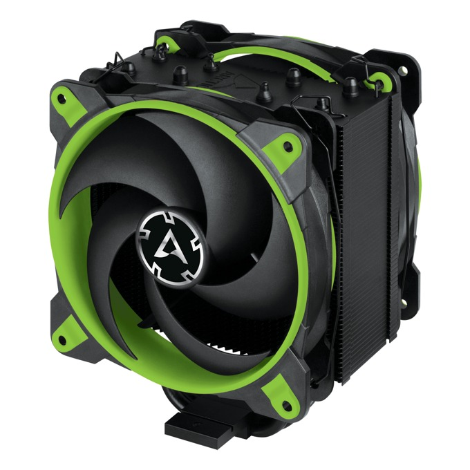 Охлаждане за процесор Arctic Freezer 34 eSports DUO Green, съвместимост със Intel LGA2066/LGA2011/LGA1151 & AMD AM4 image
