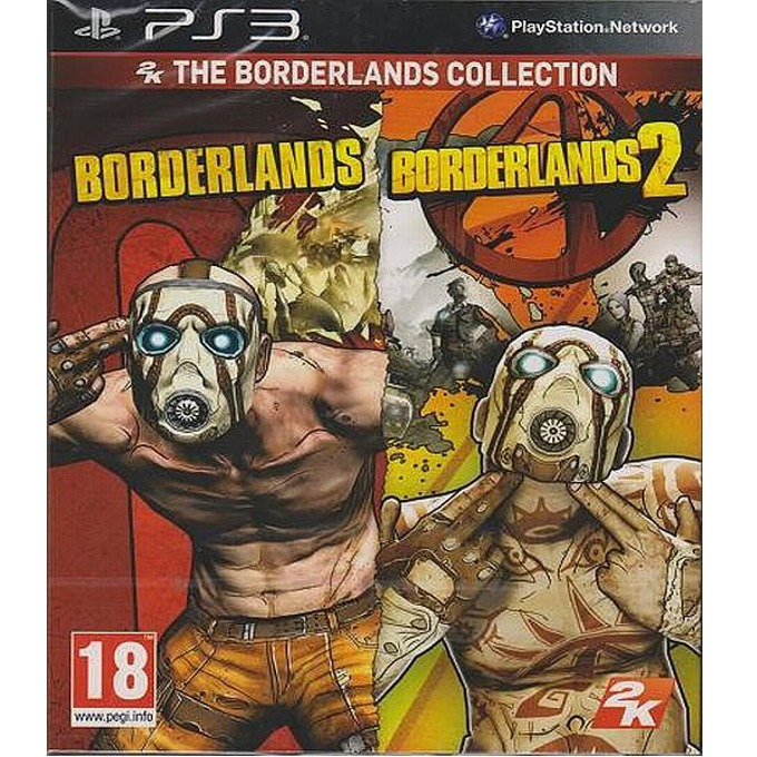 Игра за конзола 2k The Borderlands Collection, за PlayStation 3 image
