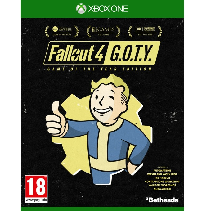 Игра за конзола Fallout 4 Game of the Year Edition, за Xbox One image
