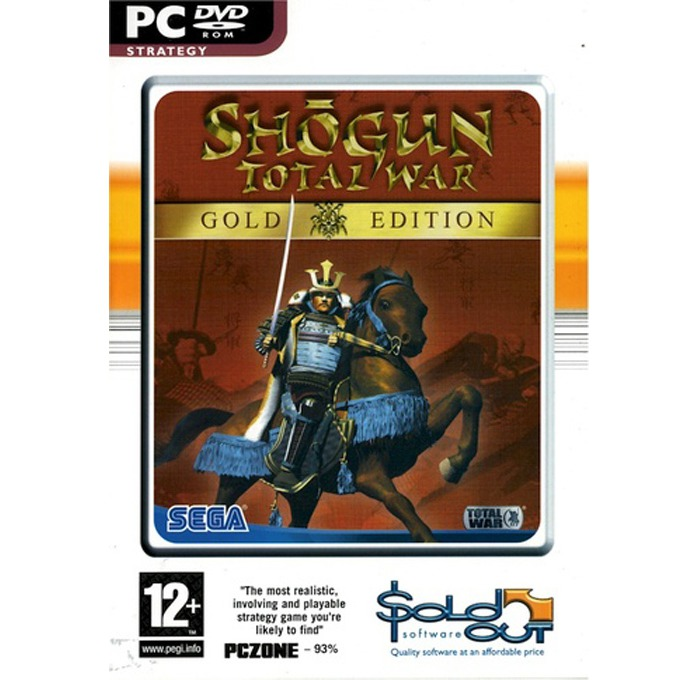 Игра Shogun Total War Gold Edition, за PC image