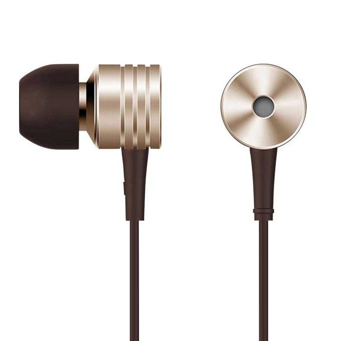 Слушалки 1MORE Piston Classic, микрофон, контрол на звука, дълбок бас, 3.5mm жак, златисти image