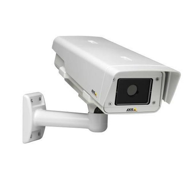 """IP камера Axis Q1910-E, насочена """"bullet"""" термална камера, 0,3 Mpix(160x120@30FPS), 2.8-8mm обектив, H.264/MPEG-4, PoE, външна IP66 защита, безжична 802.11, RJ-45 image"""