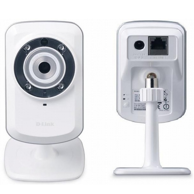 D-Link DCS-932L, 0.3Mpix, мрежова, Securicam Wirel