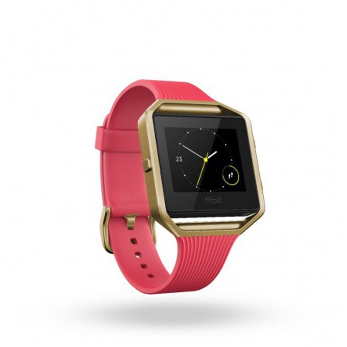 Смарт часовник Fitbit Blaze Small Size, GPS, Bluetooth, Mac OS X 10.6 (или по-нова), iPhone 4S (или по-нова), iPad 3 gen. (или по-нова), Android and Windows 10 devices, златист image