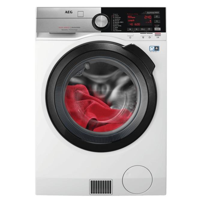 Пералня със сушилня AEG L9WBC61B, клас А, 10 кг. капацитет пералня/6 кг. капацитет сушилня, 1600 оборота в минута, свободностояща, 60 cm. ширина, бяла image