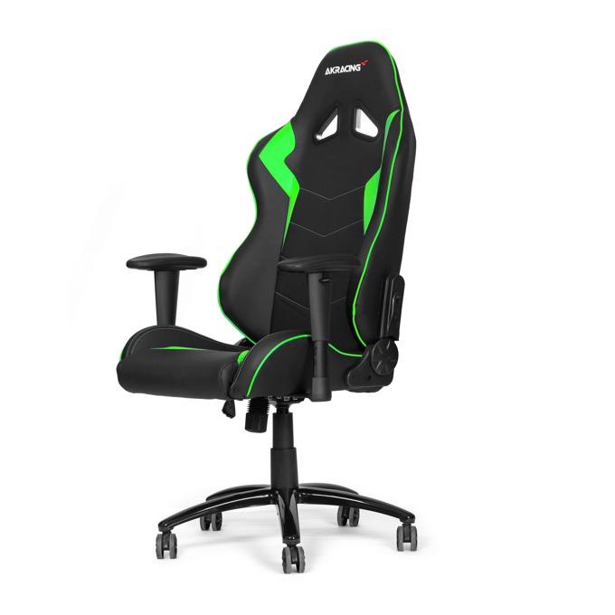 Геймърски стол AKRACING Octane Green, зелен image