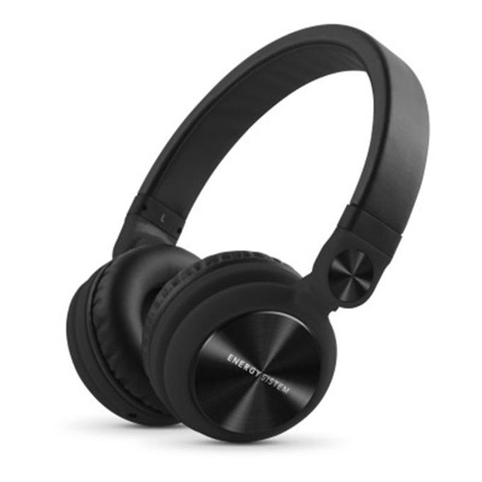 Слушалки Energy Sistem DJ2 Black Mic, микрофон, черни image