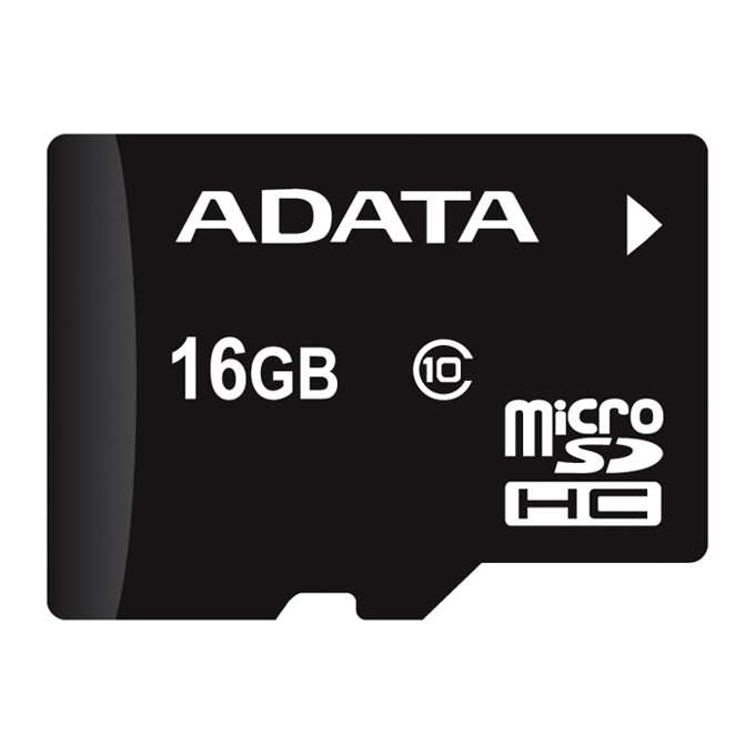16GB microSDHC, A-Data, Class 10, скорост на четене 20MB/s, скорост на запис 17MB/s image