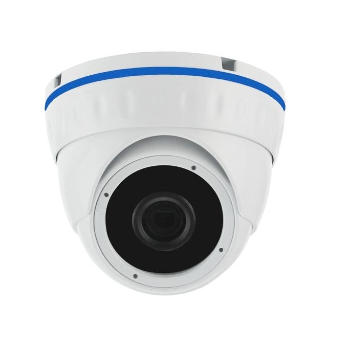 AHD камера Longse LIRDNHTC130J, куполна, 1.3 Mpix(1280x960@25FPS), 2.8-12mm обектив, IR осветеност (до 20 метра), външна, вандалоустойчива image