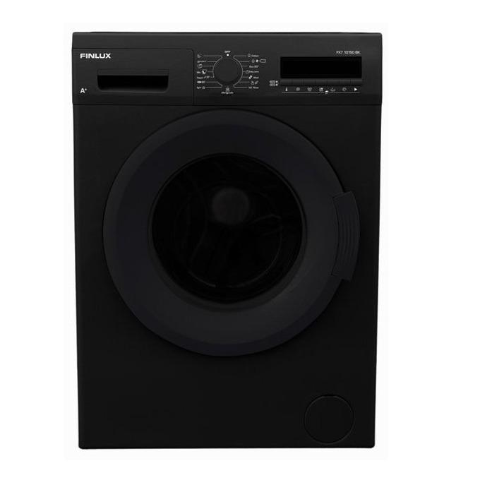 Перална машина Finlux FX7 10150 BK, клас A+, 7 кг. капацитет, 1000 оборота в минута, 15 програми, свободностояща, 60 cm. ширина, таймер за отложен старт, черна image