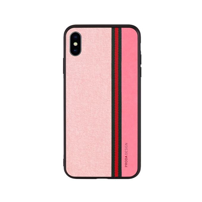 Калъф за Apple iPhone XS, термополиуретанов, Remax Proda Grand, розов image