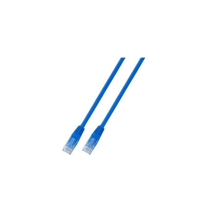 Кабел UTP EFB Elektronik, 1m, Cat 5E, пач-кабел, син image