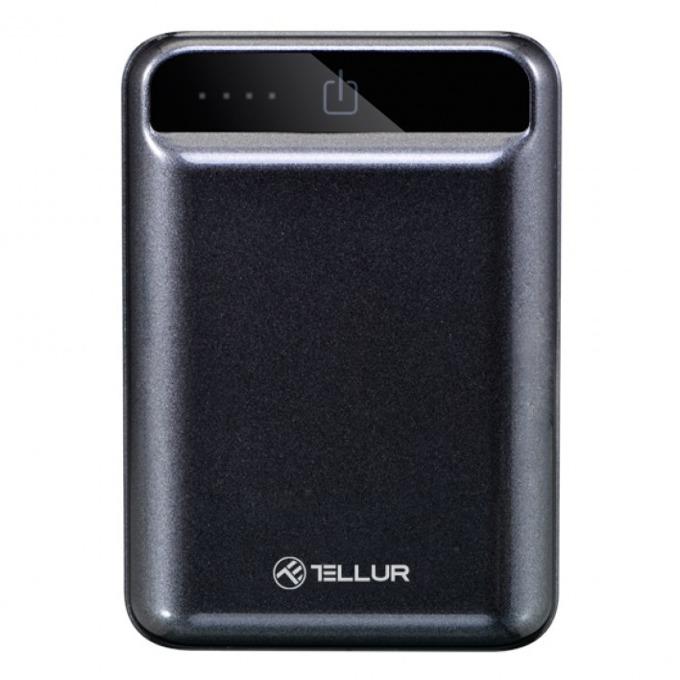 Външна батерия/power bank/ Tellur, 10000mAh, черна image