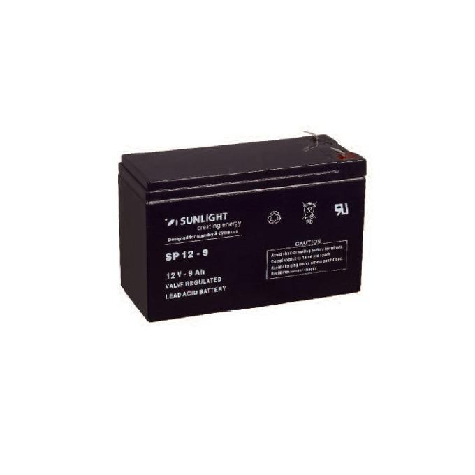 Акумулаторна батерия, Sunlight VRLA, 12V, 9Ah image