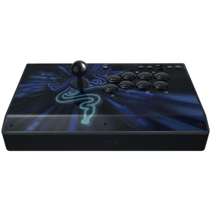 Геймпад Razer Panthera Evo Arcade Stick, за PS4, син/черен image