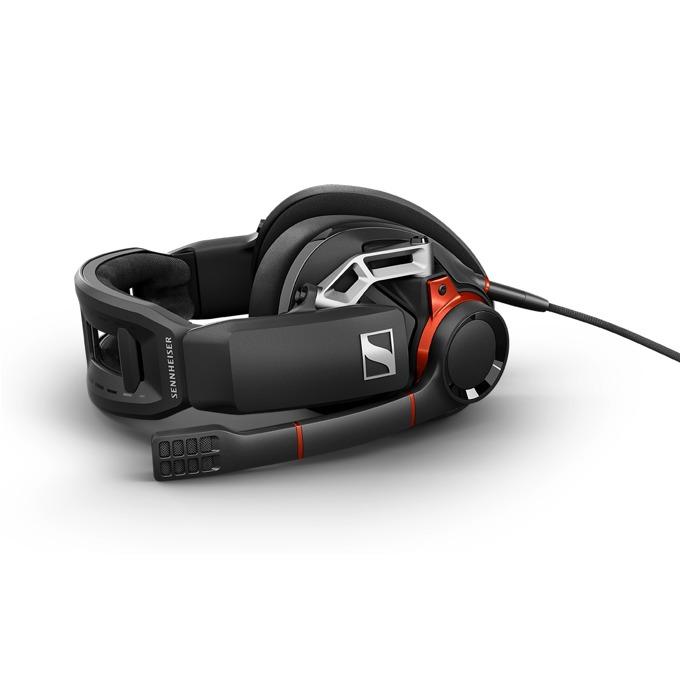 Слушалки Sennheiser GSP 600, гейминг, микрофон, черни image