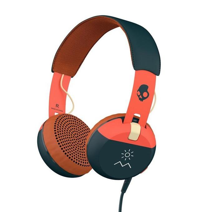 Слушалки Skullcandy Grind Headphones Explore, дизайнерски, микрофон image