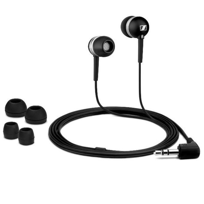 "Слушалки Sennheiser CX 300, тип ""тапи"", черни image"