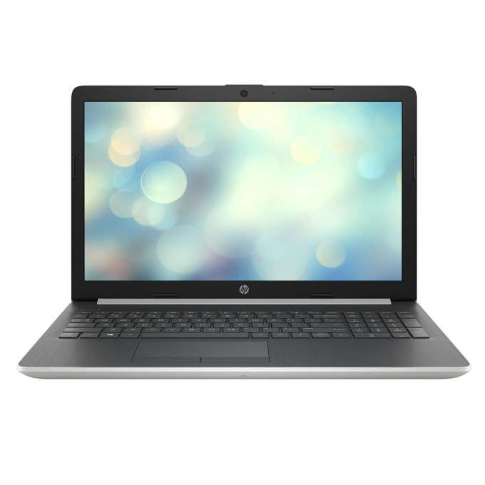 "Лаптоп HP 15-db1059nq (2L9U5EA)(сребрист), двуядрен AMD Ryzen 3 3200U 2.6/3.5GHz, 15.6"" (39.62 cm) Full HD Anti-Glare Display, (HDMI), 4GB DDR4, 256GB SSD, 2x USB 3.1, FreeDOS image"