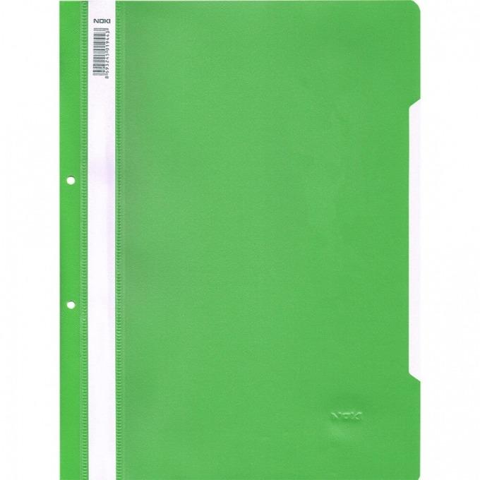 Папка с перфорация Lux светлозелена