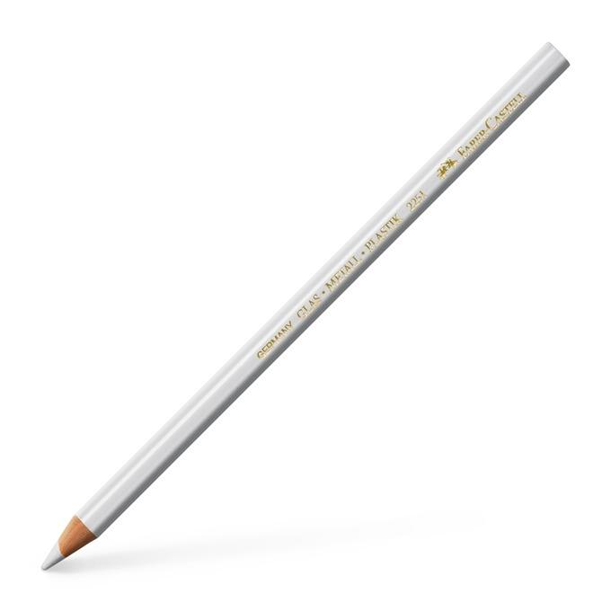 молив Faber-Castell за стъкло бял