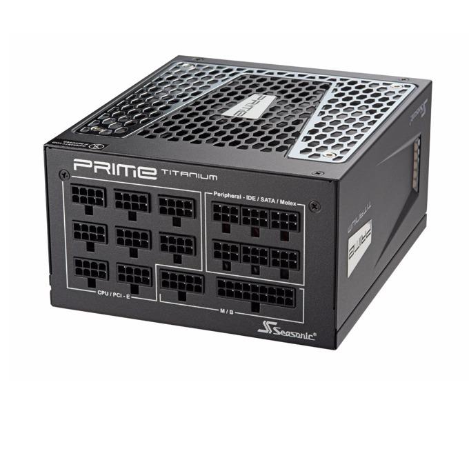 Захранване Seasonic Prime Ultra SSR-850TR, 850W, Active PFC, 80+ Titanium, изцяло модулно, 135 mm вентилатор image
