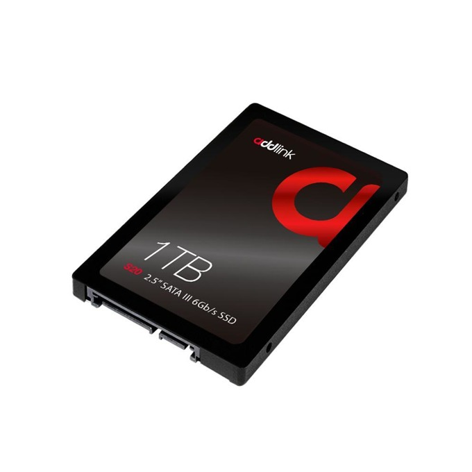 """Памет SSD 1TB Addlink S20, SATA 3 6Gb/s, 2.5""""(6.35 cm), скорост на четене 550MB/s, скорост на запис 500MB/s image"""