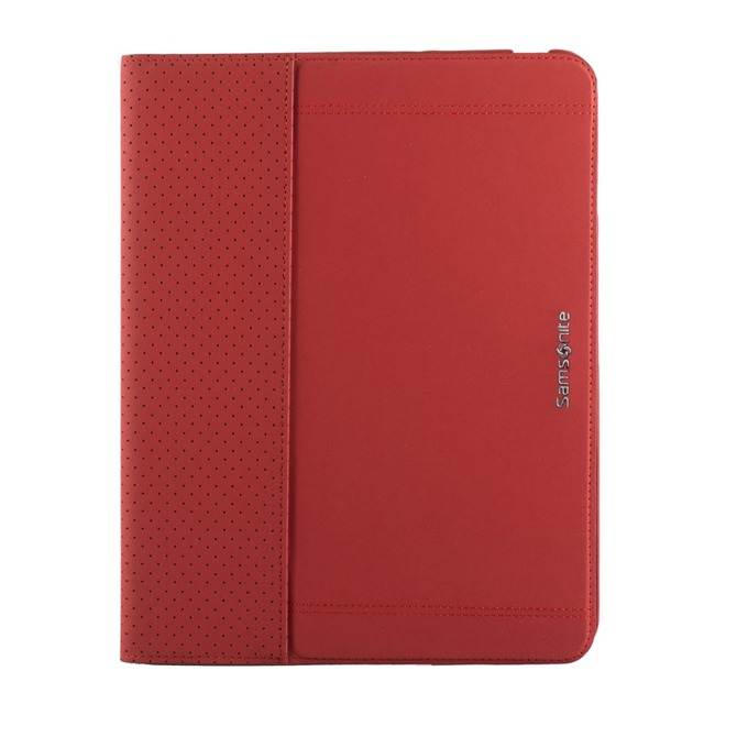"Kалъф за таблет Samsonite Tabzone iPad 3 Ultraslim Carbontech до 9.7"" (24.64 cm), ""тип бележник"", червен image"