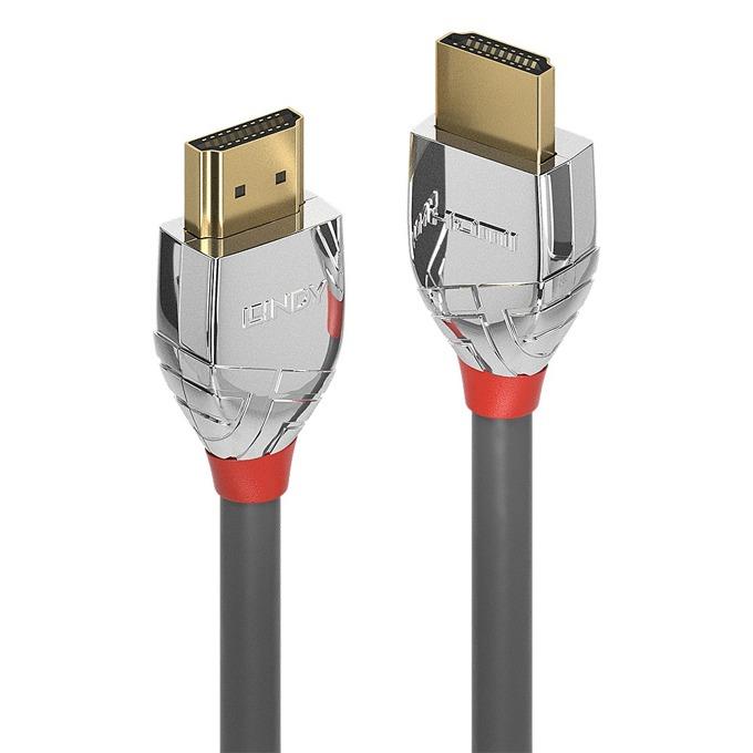 Кабел Lindy 37871, от HDMI(м) към HDMI(м), 1m, сив image
