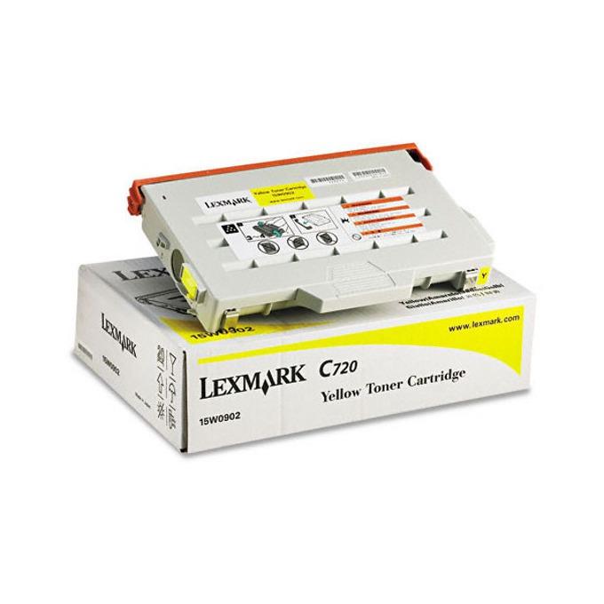 КАСЕТА ЗА LEXMARK C 720 - Yellow - P№ 15W0902 Y - заб.: 7200k image