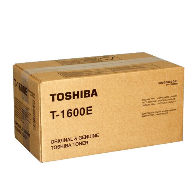 TОНЕР ЗА КОПИРНА МАШИНА TOSHIBA eStudio 16/160 - P№ T-1600E - 1pcs. - заб.: 335gr. image