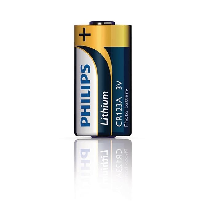 Батерия литиева Philips CR123А, 3V, 1 бр.  image