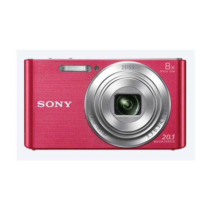 """Sony Cyber Shot DSC-W830 (розов), 20.1MP, 8xOptical zoom, 2.7"""" (6.86cm) екран, SDHC/SDXC, USB image"""